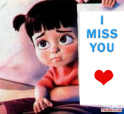 I MISS YOU TO